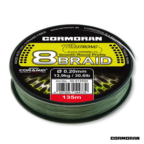 FIR CORASTRONG 8BRAID VERDE 016MM/10,7KG/135M