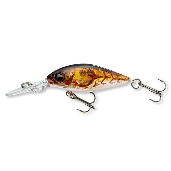 VOBLER BELLY DIVER MINI 3,8CM 3G BROWN